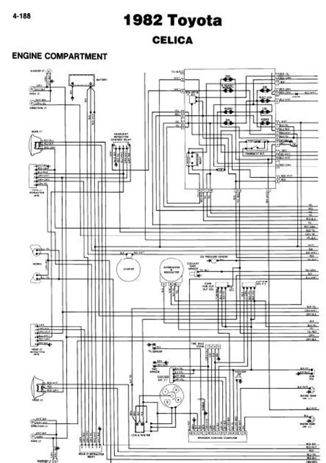 toyota celica 1982 wiring diagrams guide and manuals