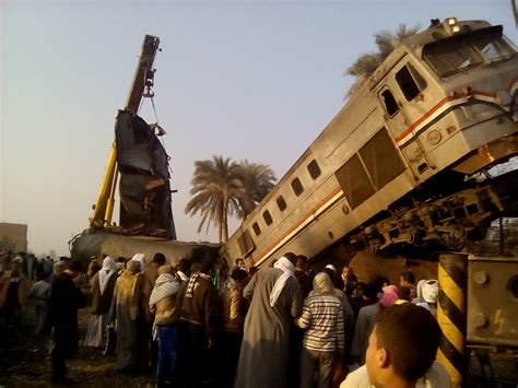 train accidents  egypt  year railway