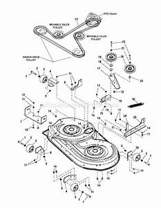 Craftsman 42 Mower Deck Parts Diagram