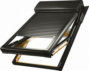 Roto Oder Velux : dachfensterrollladen atix a mit solar velux ggl moderne rollladen und markisen ~ Watch28wear.com Haus und Dekorationen