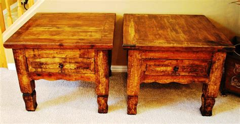 cheap rustic table ls modern rustic end tables ideas all home decorations