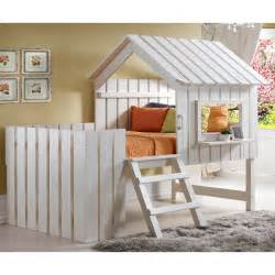 donco kids cabana twin low loft bed wayfair ca