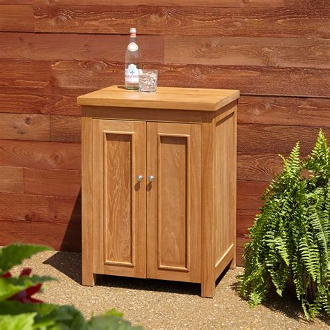 "30"" Artois Teak Outdoor Kitchen Cabinet  Outdoor"