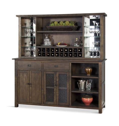 Bar Hutch by Homestead Back Bar With Hutch Hom Furniture