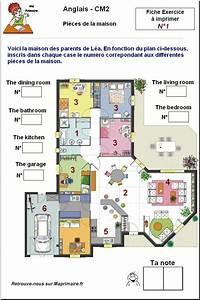 Piece De La Maison En Anglais : pieces de la maison en anglais au cm2 ~ Preciouscoupons.com Idées de Décoration