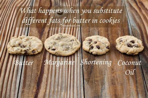 can you use butter instead of shortening substituting in chocolate chip cookies oh sweet basil