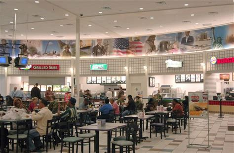 bx food court  open los angeles air force base