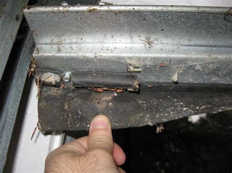 how to replace garage door seal how weather seal replacement prevents garage door from damage garage door repair blogs