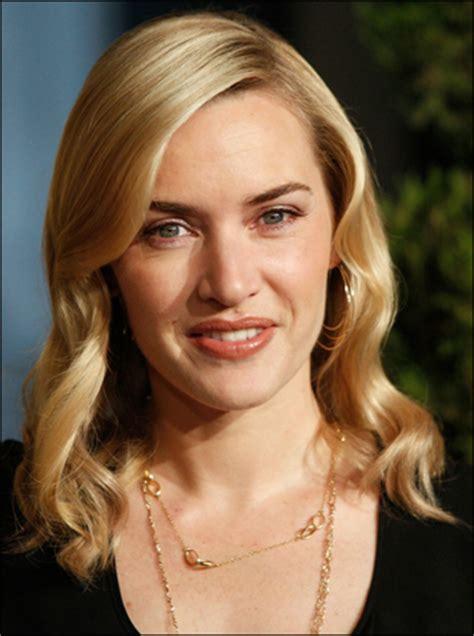 kate winslets blonde elegant wavy hairstyle