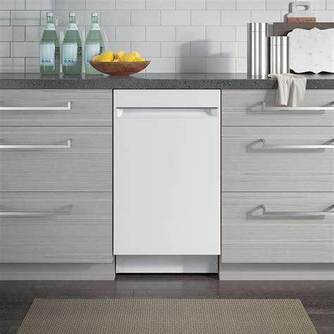 ge profile  built  dishwasher white pdtsglww ge appliances