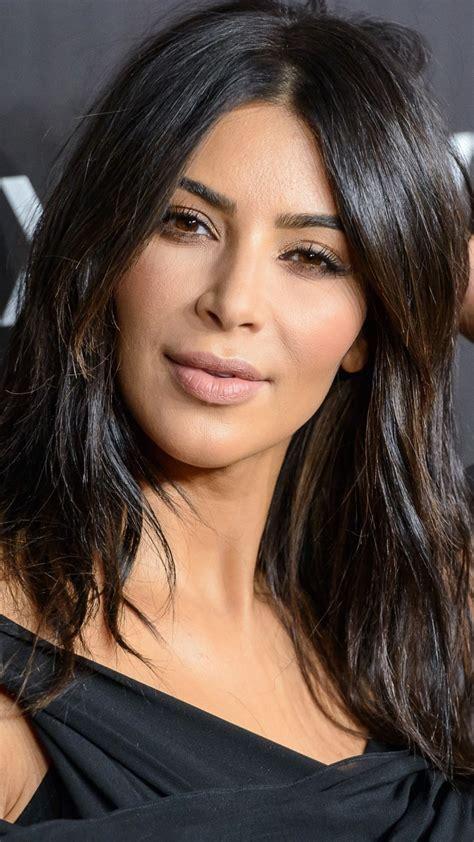 Kim Kardashian Looks Cute In Black Dress 4K HD Celebrities ...