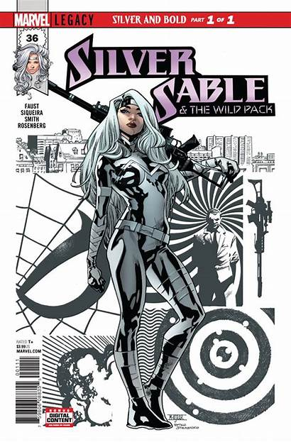 Sable Silver Wild Pack Marvel Spider Comics