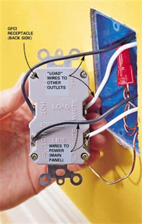 Gen Electric Line Load Gfci Outlet