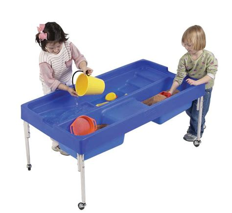 play day sand and water activity table discovery sand and water activity table 610mm water play