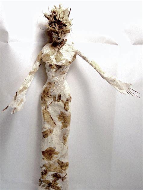 figurative paper    kind paper mache sculpture