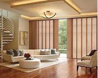 large window treatments Large Window Panel Track Blinds - Mt Pleasant, Charleston SC