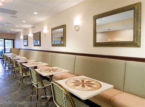 banquette table cuisine restaurantinteriors com restaurant seating
