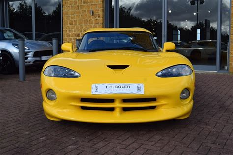 Used 2001 Dodge Viper Rt10 V10 450bhp For Sale In
