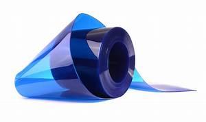 Transparent Blue PVC Strip Rolls   Rayflex Group  Transparent