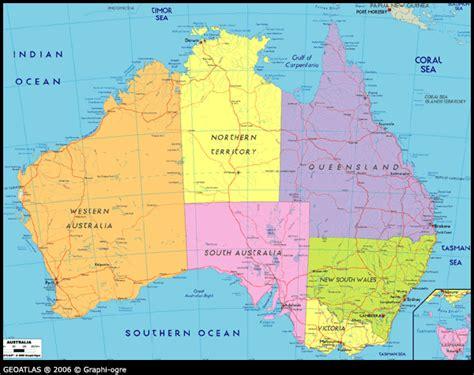 map  australia tourizm maps   world australia atlas