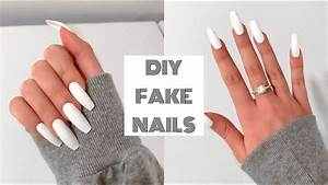 HOW TO DO FAKE ... Fake Nails