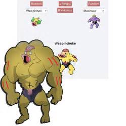 Pokemon Fusion WeepinChoke