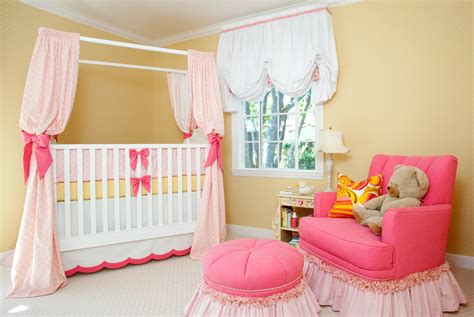 Sweet Pink & Yellow Baby Girl Nursery By House Of Ruby
