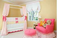 baby girl bedroom ideas Sweet Pink & Yellow Baby Girl Nursery by House of Ruby - Simplified Bee