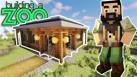 im building  zoo  minecraft gift shop ep youtube