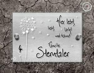 Türschilder Holz Familie : lelalusterntal pu edelstahloptik traumschild t r ~ Lizthompson.info Haus und Dekorationen