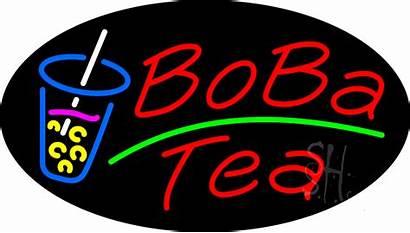 Boba Tea Sign Neon Animated Signs