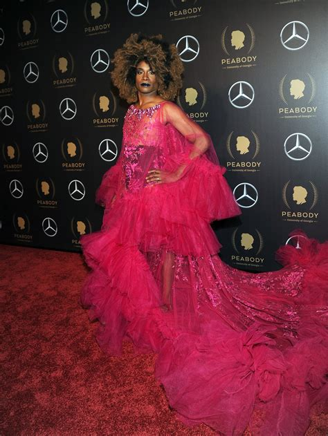 Billy Porter Turned Heads Sheer Gown The Red