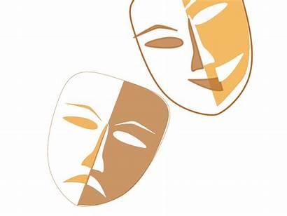 Drama Masks Theater Theatre Clipart Mask Clip