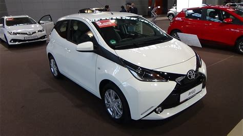 toyota aygo x play touch 2018 toyota aygo x play touch exterior and interior autotage stuttgart 2017