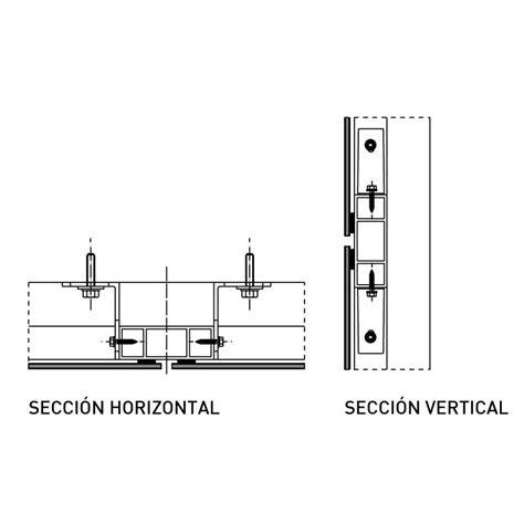 panel composite sistema pegado strugal