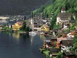 Hallstatt En Autriche Fond D39cran Paysage Naturel