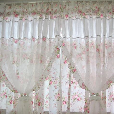 shabby chic curtain designs heavenly chic panel set shabby chic curtains shabby and floral curtains
