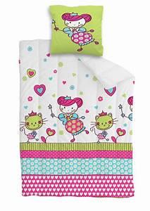 Housse De Couette Petite Fille : 14 best images about linge de lit fille girl bed linen on ~ Melissatoandfro.com Idées de Décoration