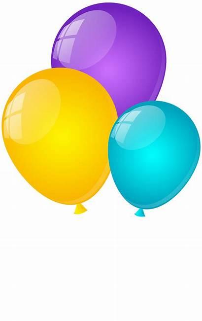 Balloons Clip Transparent Clipart Fond Clipartpng Link