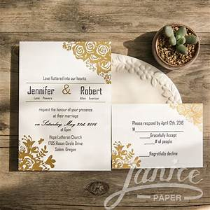 foil stamped flat invite wfsi0008 wfsi0008 000 With foil stamped wedding invitations cheap
