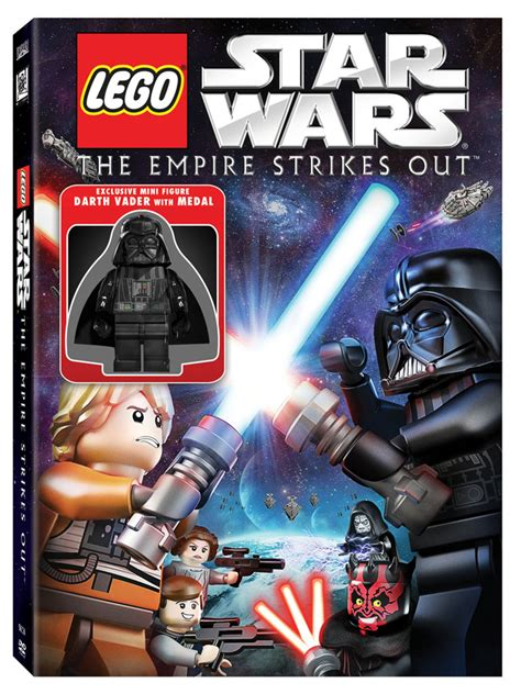 lego star wars  empire strikes  coming  dvd