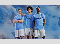 Manchester City 1718 Home Kit Released Footy Headlines