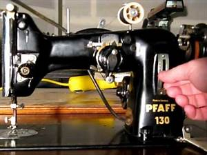 Pfaff 130 Sewing Machine With Automatic 50010 Attachment