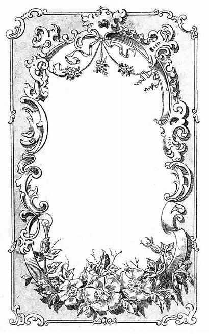 Frame Digital Ornate European Fairy Graphics German