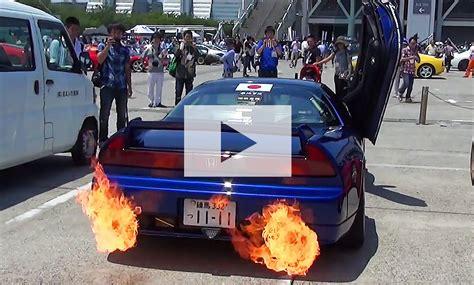 Nsx Flammenwerfer honda nsx tuning autozeitung de