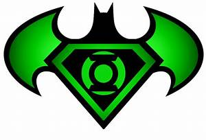 Superman Batman Green Lantern logo by KalEl7 on DeviantArt