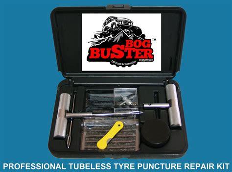 Bogbuster Tubeless Tyre Puncture Repair Kit Car 4x4 4wd