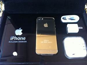 Apple Iphone 5S -16 GB 24KT Gold Plated Limited Edition ...