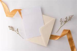 Format For Medical Report Top View Flat Lay Wedding Invitation Card Envelopes