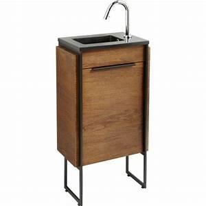 Leroy Merlin Commode : 25 best ideas about meuble lave main on pinterest meuble lave main wc toilette avec lave ~ Dode.kayakingforconservation.com Idées de Décoration